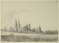Southwell Minster, south-east view